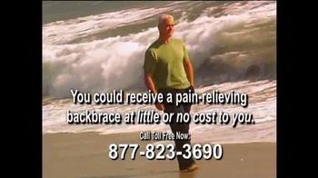 Health Alert Hotline TV Spot, 'Pain-relieving Backbrace'