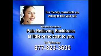 Health Alert Hotline TV Spot, 'Pain-relieving Backbrace' - Thumbnail 9