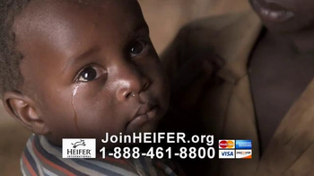 Heifer International TV Spot, 'Hunger is a Crime'
