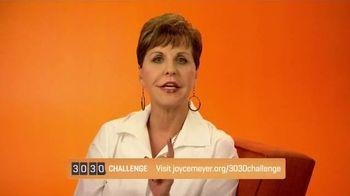 Joyce Meyer Ministries TV Spot, '30/30 Challenge'