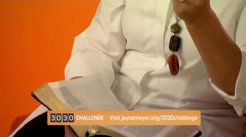 Joyce Meyer Ministries TV Spot, '30/30 Challenge' - Thumbnail 4