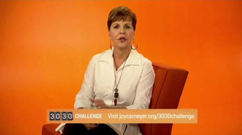 Joyce Meyer Ministries TV Spot, '30/30 Challenge' - Thumbnail 5