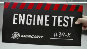 Mercury Marine TV Spot, 'Engine Test' - Thumbnail 1