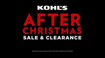 Kohl's After Christmas Sale TV Spot, 'Don't Miss It' - Thumbnail 7