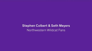 Northwestern University TV Spot, 'Fans' Feat. Stephen Colbert, Seth Meyers - Thumbnail 1