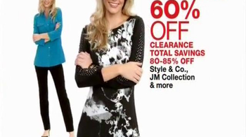 Macy's One Day Sale TV Spot, 'Clothing, Luggage, and Appliance Deals' - 101 commercial airings