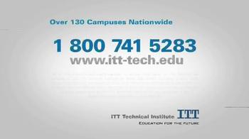 ITT Technical Institute TV Spot, 'Even Better Technical Education' - Thumbnail 10