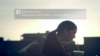 Dunkin' Donut Iced Coffee TV Spot, 'Gabriela's Coffee Story' - Thumbnail 6