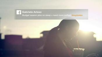 Dunkin' Donut Iced Coffee TV Spot, 'Gabriela's Coffee Story' - Thumbnail 7
