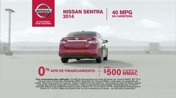 2014 Nissan Sentra TV Spot, 'Movimiento' [Spanish] - Thumbnail 5