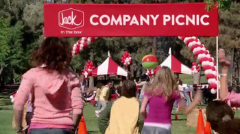 Jack in the Box Jack's Blazin' Chicken Sandwich TV Spot, 'Company Picnic' - 302 commercial airings