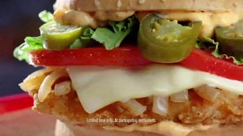 Jack in the Box Jack's Blazin' Chicken Sandwich TV Spot, 'Company Picnic' - Thumbnail 7