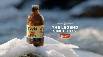 Coors Banquet TV Spot, 'Snow' - 270 commercial airings