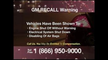 Pulaski & Middleman TV Spot, 'GM Recall Warning' - Thumbnail 2