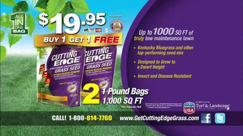 Cutting Edge Grass Seed TV Spot - Thumbnail 10