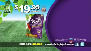 Cutting Edge Grass Seed TV Spot - Thumbnail 8