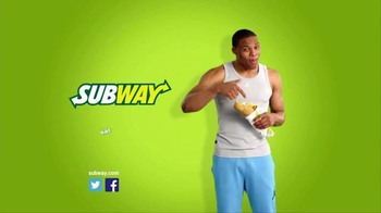 Subway Chicken and Bacon Ranch Melt TV Spot Featuring Russell Westbrook - Thumbnail 8