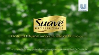 Suave Professional Natural Infusions TV Spot, 'Pureology' - Thumbnail 10