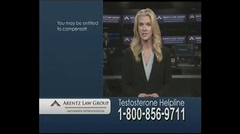Arentz Law Group TV Spot, 'Testosterone Helpline: Compensation' - Thumbnail 3