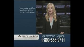Arentz Law Group TV Spot, 'Testosterone Helpline: Compensation' - Thumbnail 4