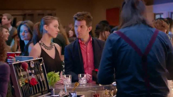 Smirnoff Vodka TV Spot, 'The Mixologist' Feat. Adam Scott and Alison Brie  - 716 commercial airings