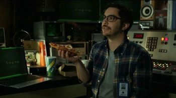 Subway Flatizza TV Spot, 'Space Listening Center' - 2 commercial airings