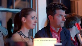 Smirnoff TV Spot, 'The VIP Room' Featuring Adam Scott and Alison Brie - 605 commercial airings