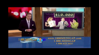 1-800MediGap TV Spot, 'Don't Take Chances' Featuring Wink Martindale - Thumbnail 3