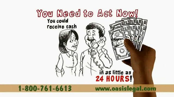 Oasis Legal Finance TV Spot, 'Get Cash Today' - Thumbnail 6