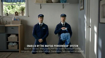 Maytag Powerwash System TV Spot, 'World-Class Cleaning' Ft. Colin Ferguson - Thumbnail 8
