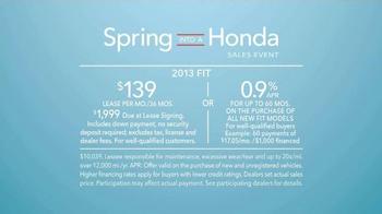 Spring Into A Honda Sales Event TV Spot, 'Best List' - Thumbnail 9