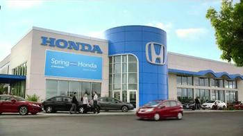 Spring Into A Honda Sales Event TV Spot, 'Best List' - Thumbnail 7