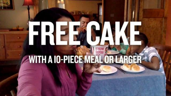 KFC 10-Piece Meal TV Spot, 'Free Cake' - Thumbnail 8