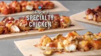Domino's Pizza Specialty Chicken TV Spot, 'Failure is an Option'