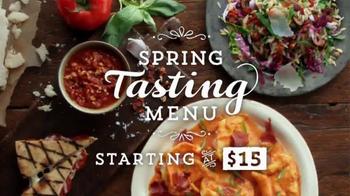 Romano's Macaroni Grill Spring Tasting Menu TV Spot - Thumbnail 7