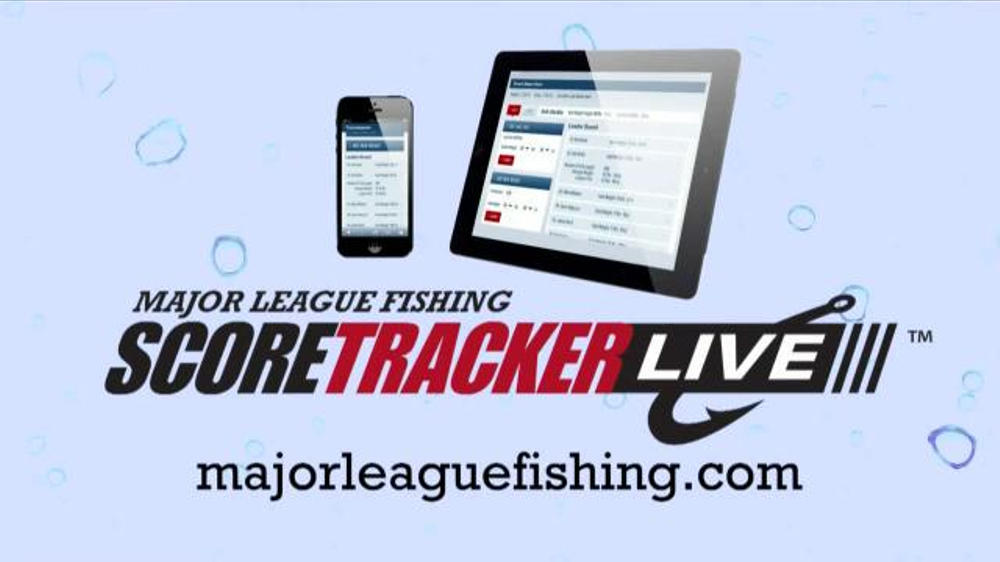 Major League Fishing TV Commercial, 'Score Tracker Live'