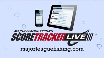 Major League Fishing TV Spot, \'Score Tracker Live\'