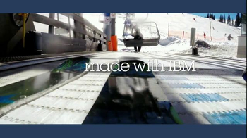IBM TV Spot, 'Skis Made With Data' Featuring Eric-Jan Kaak - Thumbnail 9