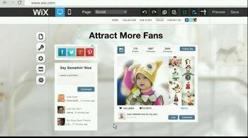 Wix.com TV Spot, 'Show Off Your Business'