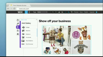 Wix.com TV Spot, 'Show Off Your Business' - Thumbnail 4