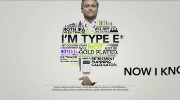 E*TRADE TV Spot, 'Type E' - Thumbnail 7