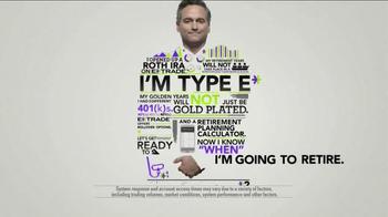 E*TRADE TV Spot, 'Type E'