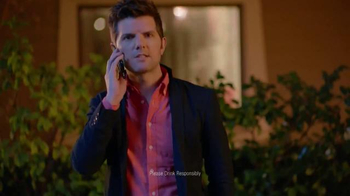 Smirnoff TV Spot, 'Getting Home' Featuring Adam Scott and Alison Brie - 900 commercial airings