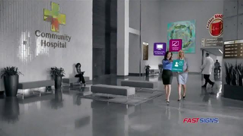 Fast Signs TV Spot, 'Charity Hospital' - Thumbnail 5