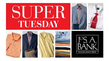 JoS. A. Bank TV Spot, 'April 2014 Super Tuesday 60% Off' - 22 commercial airings