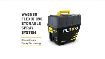Wagner FLEXiO 890 TV Spot, 'Storable' - Thumbnail 10