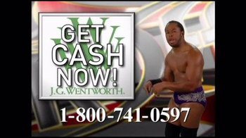 J.G. Wentworth TV Spot, 'WWE' - Thumbnail 3