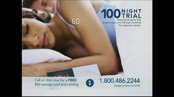 Sleep Number Dual Temp TV Spot, 'Too Hot or Too Cool' - Thumbnail 9