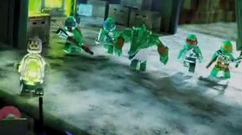 LEGO Teenage Mutant Ninja Turtles TV Spot, 'Kraangs vs. Turtle Sub' - Thumbnail 2