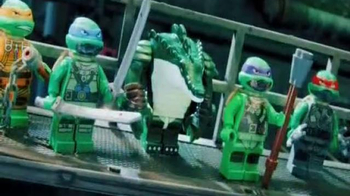 LEGO Teenage Mutant Ninja Turtles TV Spot, 'Kraangs vs. Turtle Sub' - Thumbnail 3
